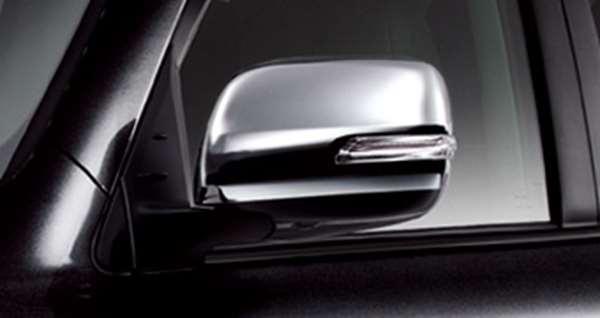 『ランドクルーザー200系』 純正 URJ202 メッキドアミラーカバー パーツ トヨタ純正部品 サイドミラーカバー カスタム landcruiser オプション アクセサリー 用品