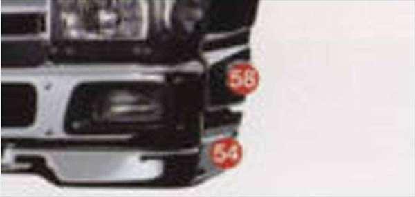 エルフ 写真58番のみ メッキサイドアンダープロテクターセット イスズ純正部品 エルフ パーツ nhr85 nhs85 njr85 nkr85 パーツ 純正 イスズ いすゞ イスズ純正 いすゞ 部品 オプション メッキ