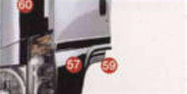 エルフ 写真59番のみ メッキドアライナーセット イスズ純正部品 エルフ パーツ nhr85 nhs85 njr85 nkr85 パーツ 純正 イスズ いすゞ イスズ純正 いすゞ 部品 オプション メッキ