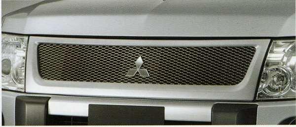 【パジェロ】純正 V98W V97W V93W V88W メッシュグリル パーツ 三菱純正部品 PAJERO オプション アクセサリー 用品
