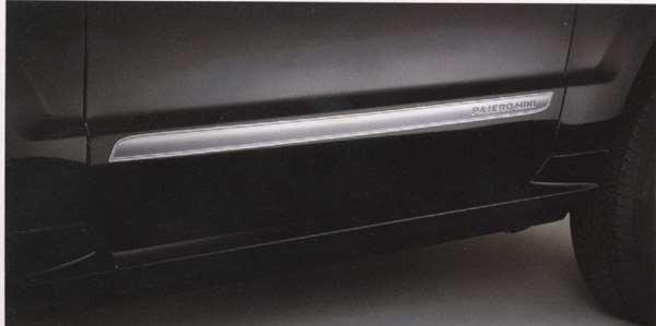 サイドストライプモール(メッキ調) パジェロミニ H58A H53A