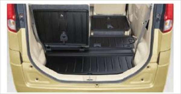 『スペーシア』 純正 MK42S ラゲッジマット(シート背裏あり) パーツ スズキ純正部品 ラゲージマット 荷室マット 滑り止め spacia オプション アクセサリー 用品