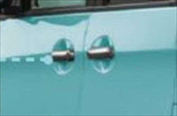 ドアハンドルガーニッシュ スペーシア MK42S スズキ純正 メッキ ドアカバー ドアノブ パネル spacia パーツ 部品 オプション