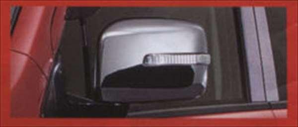 クロームメッキ ドアミラーカバー(LEDサイドターンランプ付ドアミラー用) ワゴンR MH34S