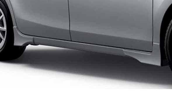 『プリウスα』 純正 ZVW41 ZVW40 サイドスパッツ 一台分 パーツ トヨタ純正部品 prius オプション アクセサリー 用品