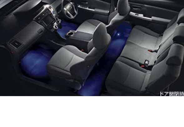 『プリウスα』 純正 ZVW41 ZVW40 インテリアイルミネーション 2モードタイプ パーツ トヨタ純正部品 照明 明かり ライト prius オプション アクセサリー 用品