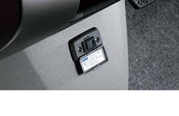 『プリウスEXグレード』 純正 NHW20 パワーアウトレット AC電源 パーツ トヨタ純正部品 コンセント AC電源 100W prius オプション アクセサリー 用品