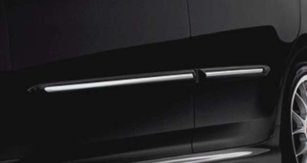 『クラウンアスリート』 純正 GRS200 サイドプロテクションモール メッキタイプ パーツ トヨタ純正部品 サイドモール サイドパネル crown オプション アクセサリー 用品