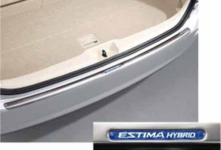 kiom029 『エスティマハイブリッド』 純正 AHR20 リヤバンパーステップガード パーツ トヨタ純正部品 estima オプション アクセサリー 用品