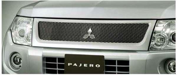 メッシュグリル パジェロ V98W 三菱純正 PAJERO パーツ 部品 オプション