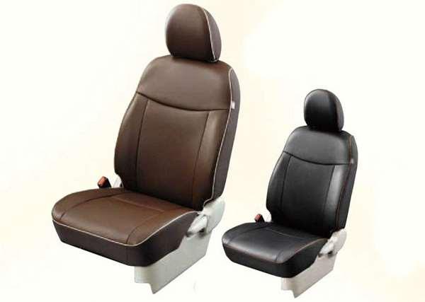 本革調シートカバー MZ501757 ekスペース B11A