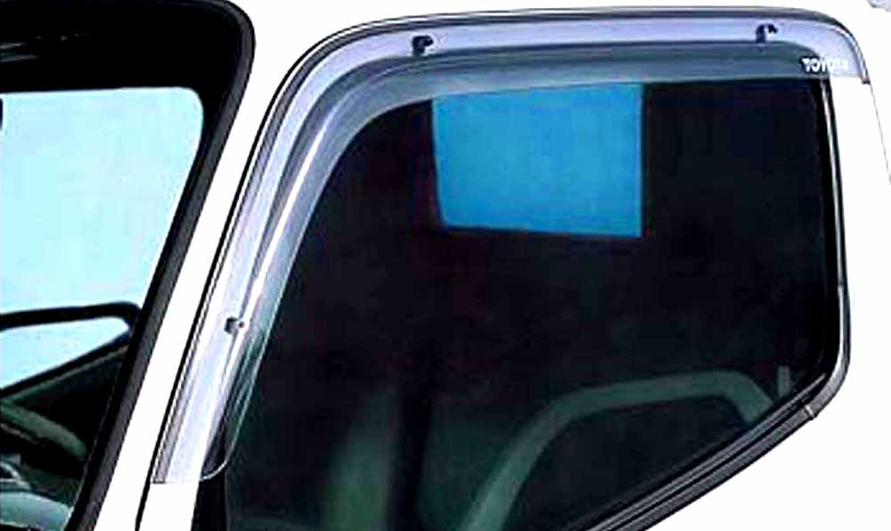『ダイナ、トヨエース(1t)』 純正 KDY221 TRY220 KDY27 サイドバイザー ベーシック パーツ トヨタ純正部品 ドアバイザー 雨よけ 雨除け dyna オプション アクセサリー 用品