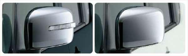 『ソリオ』 純正 MA15S メッキ ドアミラーカバー 左右セット パーツ スズキ純正部品 サイドミラーカバー カスタム solio オプション アクセサリー 用品
