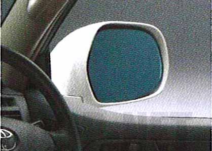 『ハイラックスサーフ』 純正 GRN215 アウターミラー レインクリアリングブルーミラー パーツ トヨタ純正部品 青色 ドアミラー 雨粒 hiluxsurf オプション アクセサリー 用品