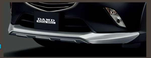 『CX-3』 純正 DK5FW DK5AW DAMD フロントプロテクター パーツ マツダ純正部品 フロントスポイラー エアロパーツ カスタム オプション アクセサリー 用品