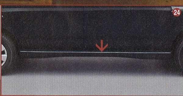 『アトレー』 純正 S320G サイドロッカーピンモール パーツ ダイハツ純正部品 atrai オプション アクセサリー 用品