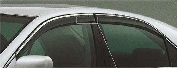 『クラウンアスリート』 純正 GRS180 サイドバイザー ベーシック パーツ トヨタ純正部品 ドアバイザー 雨よけ 雨除け crown オプション アクセサリー 用品