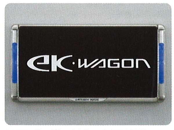 ナンバープレートフレーム(LED付) ekワゴン H81