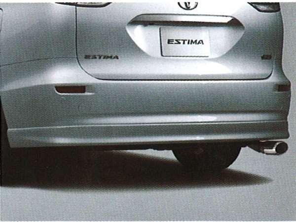 リヤバンパースポイラー G/X用 08158-28050-J1 エスティマ ACR50