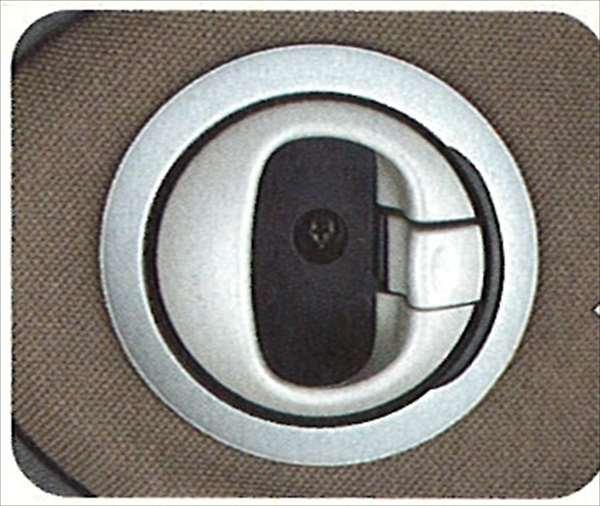 『ジーノ』 純正 L650 カラー/ウッド調コーディネイトインナーハンドルベゼルパッチ パーツ ダイハツ純正部品 ウッド 内装パネル ドレスアップ miragino オプション アクセサリー 用品