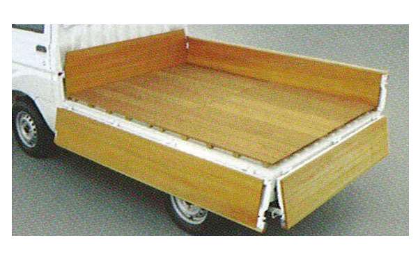 『ハイゼットトラック』 純正 S200P 木製フロアデッキ(フロア部のみ) パーツ ダイハツ純正部品 荷台 保護 hijettruck オプション アクセサリー 用品