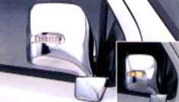 メッキ ドアミラーカバー(サイドマーカーランプ付) ワゴンR ワゴンR MC22 MC12