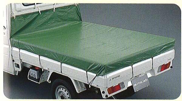 『ミニキャブ』 純正 U61 トノカバー 幌布 パーツ 三菱純正部品 ホロ トラック幌荷室 トランク MINICAB オプション アクセサリー 用品