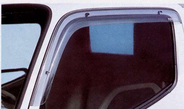 『トヨエース』 純正 KDY220 サイドバイザー(ベーシック) パーツ トヨタ純正部品 ドアバイザー 雨よけ 雨除け toyoace オプション アクセサリー 用品