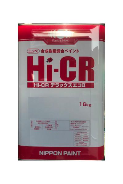 【送料無料】Hi-CRデラックスエコ2(白/ホワイト:艶有)F☆☆☆☆の合成樹脂調合ペイント:16kg<日本ペイント>