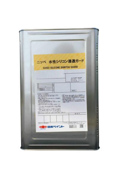 【送料無料】水性シリコン浸透ガード水性シリコン・フッ素系浸透性吸水防止塗料各色(艶消)15kg<日本ペイント>