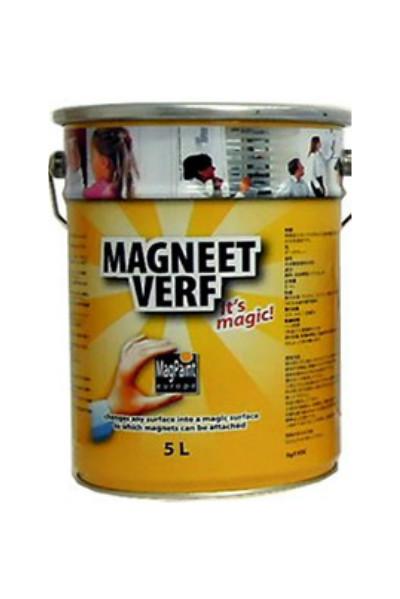 【送料無料】マグネットペイント(MAGNEET VERF):5L<マグペイントジャパン>磁石付着塗料