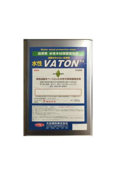 【大谷塗料】水性VATON/水性バトン(各色)水性自然系木部用浸透型着色剤:3.5kg