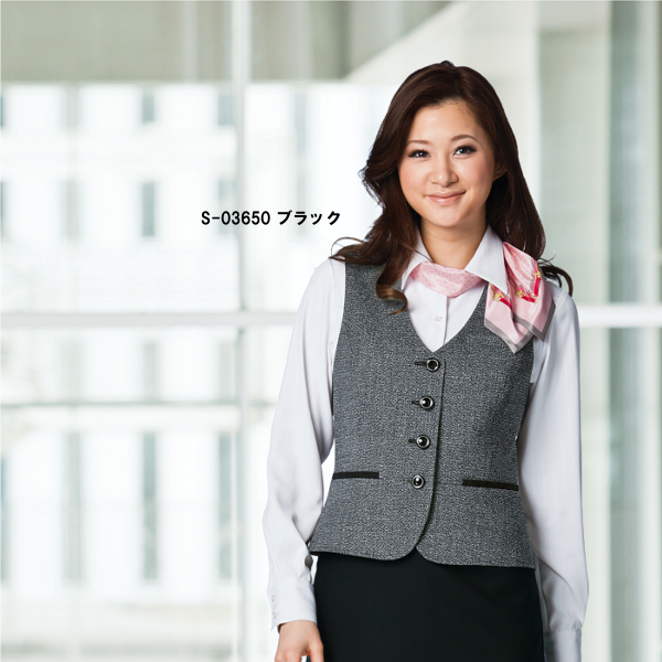 Office Clothes Best S 03650 Tweed Black Harmonic Temperature All Seasons
