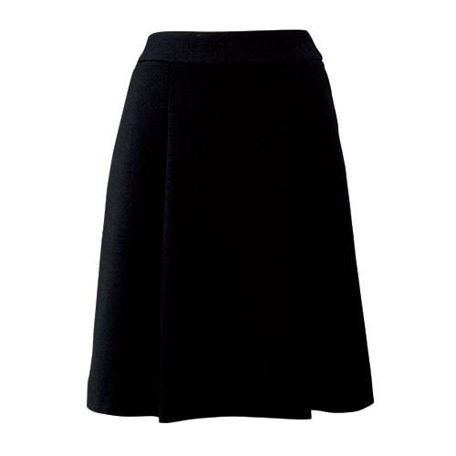 柔らかな印象を放つソフトプリーツスカート 事務服 ブラック チャコール FOLK フォーク nuovo FS45728-9 FS45728-55   スカート オフィス 制服 OL レディース スーツ 女性 プリーツスカート プリーツ 事務 ビジネス 通勤 オフィス