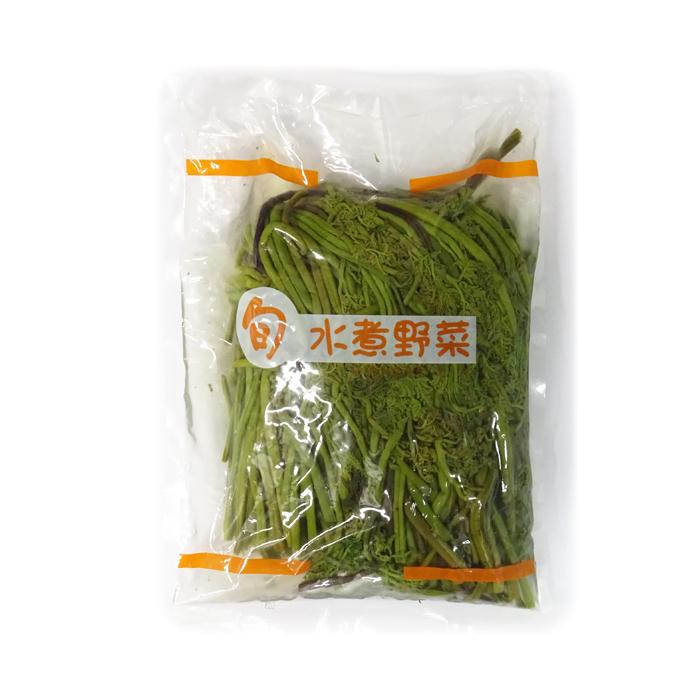 【送料無料】わらび水煮 《1キロ×10袋》 アセイコーポレーション1ケース