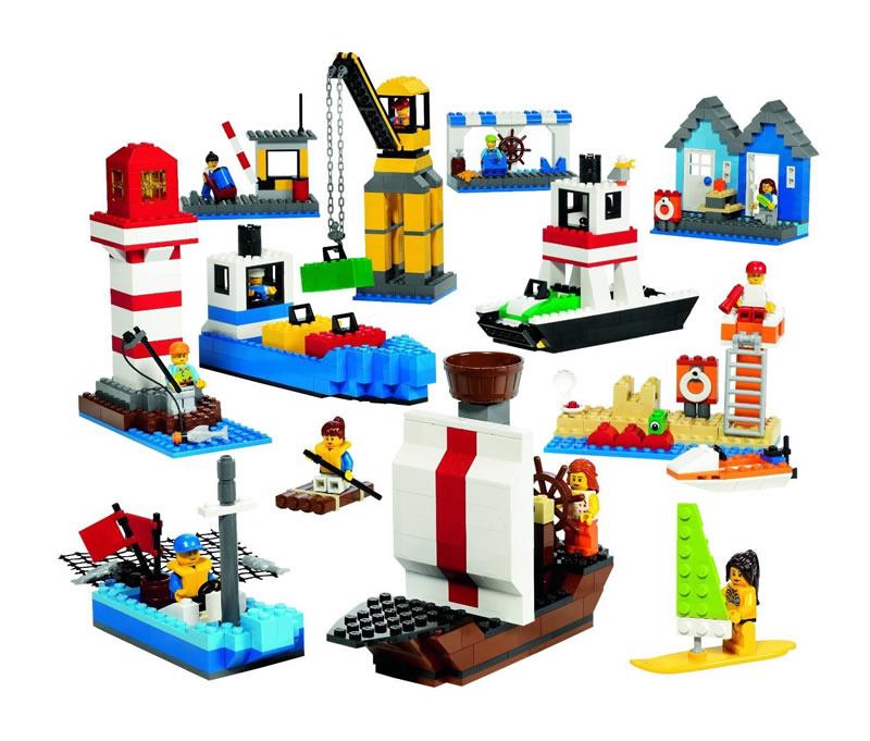 LEGO レゴ 船 と 港 セット 9337 【国内正規品】 V95-5420 ※在庫限り