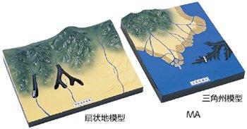 たい積地形模型 MA