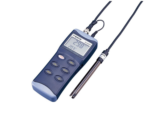 ハンディ型pH計 SK-620PH