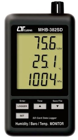 デジタル温湿度・気圧計 MHB-382SD