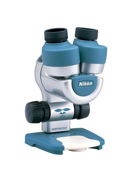 水生生物の観察も 2020 保障 ニコン 小型 双眼実体顕微鏡 ファーブルミニ