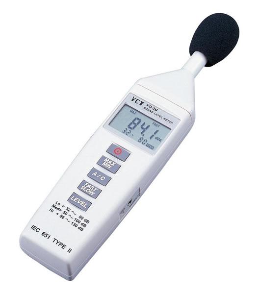 デジタル騒音計 YC-30