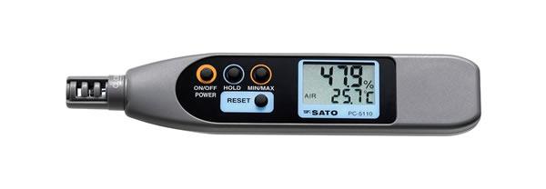 ペンタイプ温湿度計 PC-5110
