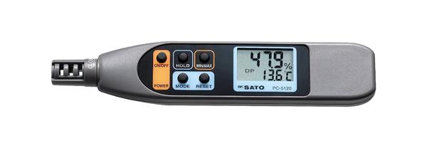 ペンタイプ温湿度計 PC-5120