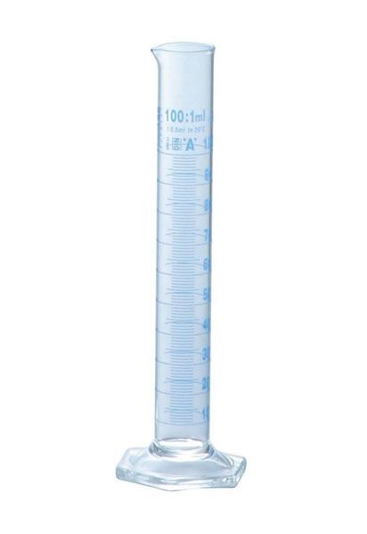 硼珪酸ガラス DIN ISO 送料無料カード決済可能 クラスA規格 特価品コーナー☆ 100mL ISOLAB メスシリンダー