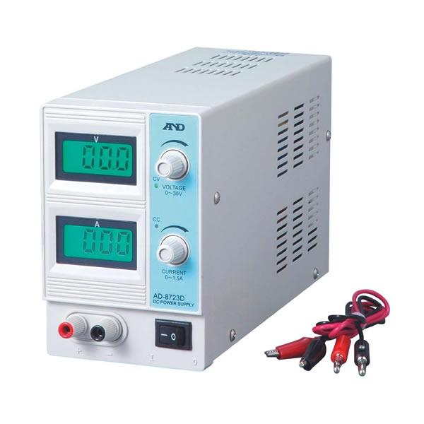 直流安定化電源装置 AD-8724D(95×150×235mm)