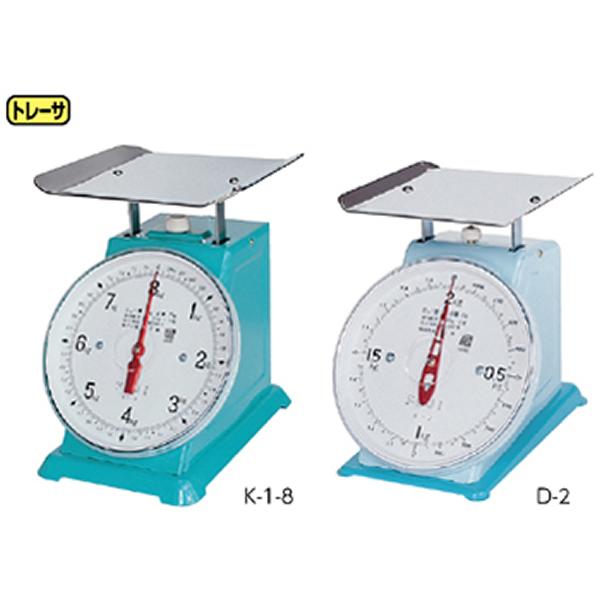 自動上皿はかり K-1-4 最大秤量4kg 皿210×210mm