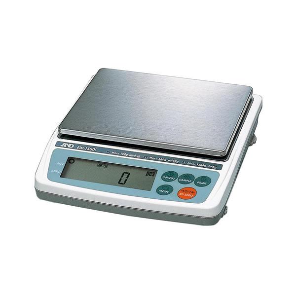 電子てんびん EW-150i 3レンジ切り替え式 バックライト ステンレスSUS304製 RS-232C出力標準装備 最大秤量30/60/150g 190×218×55mm