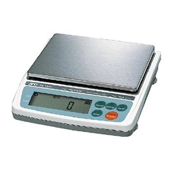 電子てんびん EW-1500i 3レンジ切り替え式 バックライト ステンレスSUS304製 RS-232C出力標準装備 最大秤量300/600/1500g 190×218×53mm