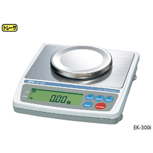 電子てんびん EK-410i RS-232C バックライト 最大秤量400g 190×218×55mm