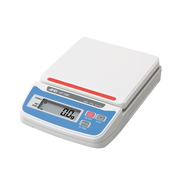 電子てんびん HT-500 コンパクトサイズ 最大秤量510g 136×195×44mm